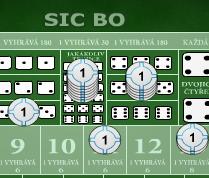Sic Bo (Kostky)